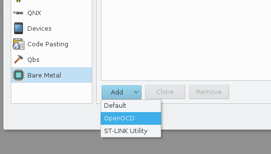 How to use QT Creator for XPCC development